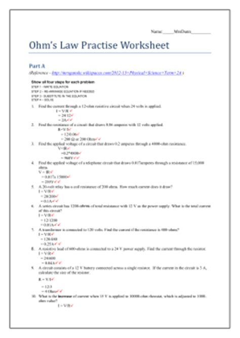resistor color code quiz with answers resistor color code practice worksheet with answers 28 images quiz worksheet practice with