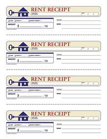 rental receipts template 6 rent receipt printable receipt