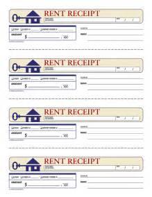 Uk Rent Receipt Template Rent Receipt Template Uk