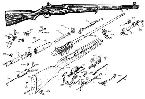 m1 carbine parts diagram marstar canada parts