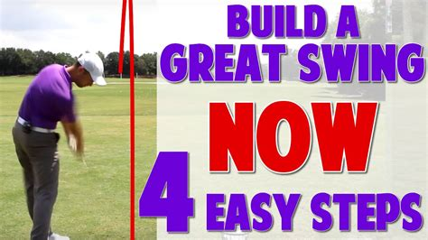 golf swing made easy golf swing made simple 4 step progression youtube