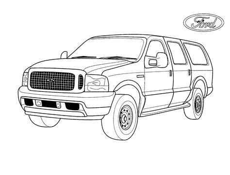 jeep coloring pages coloring page oversized jeep