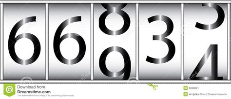 Desk Bicycle Odometer Stock Image Image 6030091
