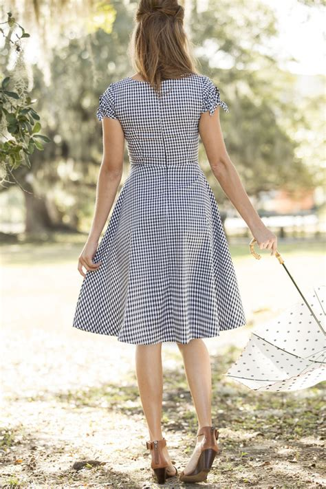 shabby apple cotillion dress black and white gingham