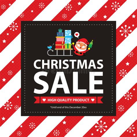 poster design vector file christmas sale poster stock vector image 60877136