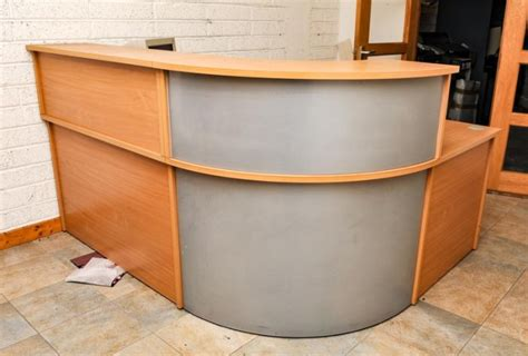 reception desk for sale curved reception desk for sale in togher cork city cork from johnallenimages
