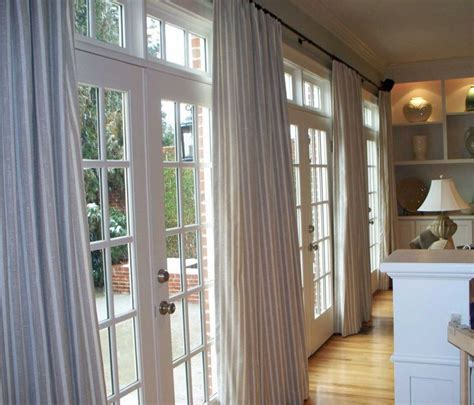 draperies for french doors bedroom french door curtains window treatments for