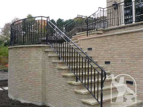 exterior banister wrought iron exterior railings photo gallery iron master