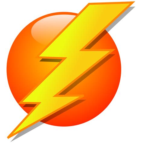 design you icon lightning icon clipart best