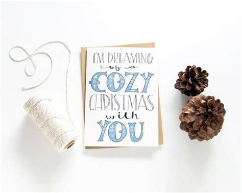 merry christmas long distance card distance relationship