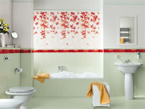 floral bathroom tiles top to toe lavish bathrooms