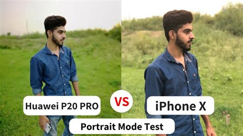 huawei p pro camera  iphone  portrait mode camera test review  youtube