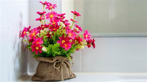 decorar interiores con flores decorar con flores artificiales alternativa