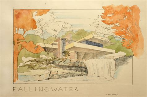 Frank Lloyd Wright Prints | print fallingwater house frank lloyd wright architecture