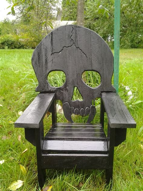 wooden skull lawn chair plans 17 best images about wooden chairs on