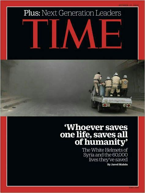 rumor mill reading room time magazine quotes quran verse on cover about syria s white helmets