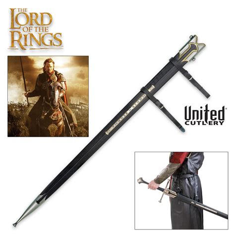 the lord of the rings anduril scabbard budk knives