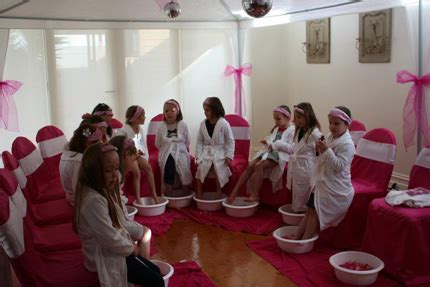 Zoe's Spa Pamper Party   Little Dance   All Things Party
