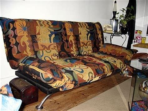 ugliest sofa ever vote for the world s ugliest couch contest 2009 sponsored