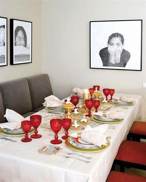 Creative amp inspiring christmas dinner table settings and decoration ideas homesthetics