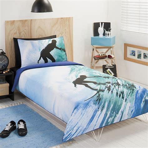 surfer bedding surfer quilt cover set target australia
