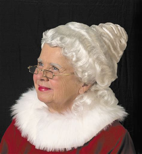 professional sant claus wig and beard sets as well as mrs