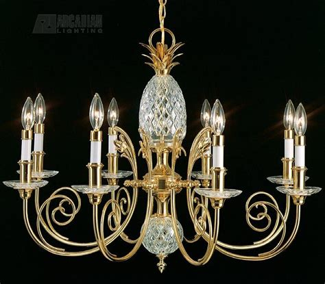 Quoizel Pineapple Chandelier Quoizel Qg501b Pineapple Traditional Chandelier Qz Qg501b