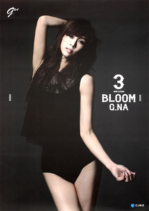 Cd G Na Mini Album Bloom yesasia g na 3rd mini album bloom poster in cd