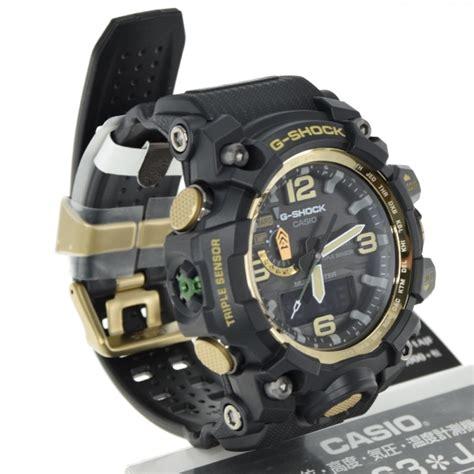 G Shock Gwg Black Gold by Casio G Shock Gwg 1000gb 1ajf Mudmaster Sensor