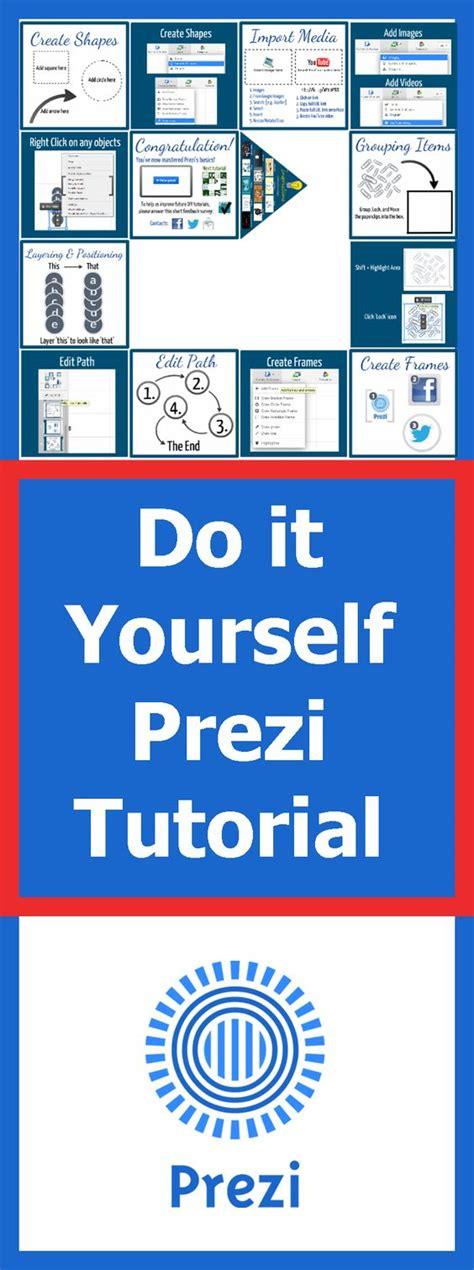 tutorial video prezi presentation software texts and 2d on pinterest