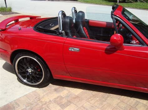 how it works cars 1993 mazda mx 5 navigation system 1993 mazda miata mx 5 red convertible manual 5 speed former trophy show car for sale mazda mx