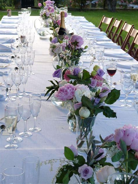 vasi per fiori recisi matrimonio centrotavola per tavolo imperiale con linea