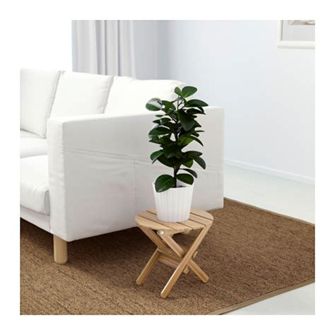 ikea plant stand vildapel plant stand bamboo 29 cm ikea