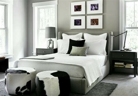 black trim bedroom grey walls white trim black furniture grey walls