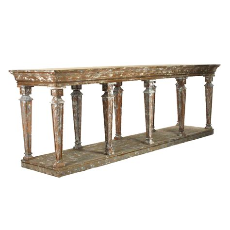 Distressed Wood Sofa Table Best Wood Console Tables All About House Design