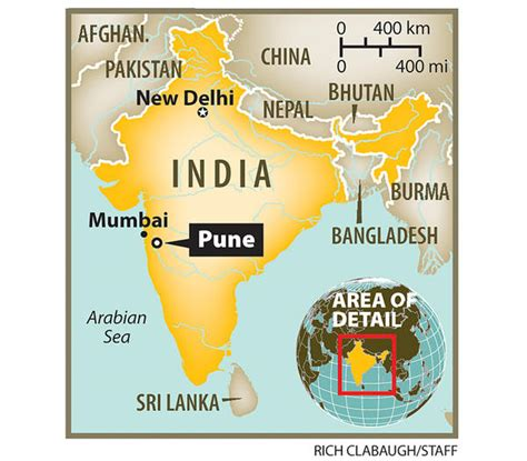 pune in map of india everything indian june 2011