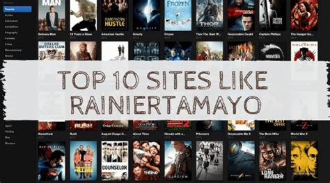 list   sites  rainiertamayo   moviestv
