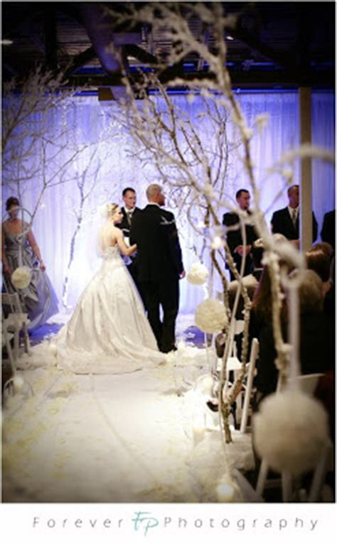winter wedding aisle decorations our original winter petal pushers