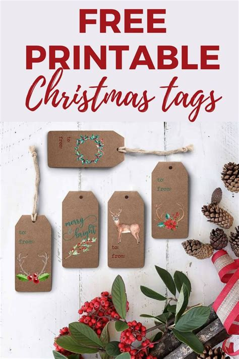 free printable gift tags for designertrapped