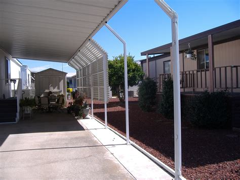 Aluminum Awning Posts by Mobile Home Carport Supports Gallery