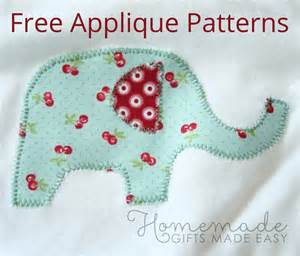 Free applique patterns and instructions