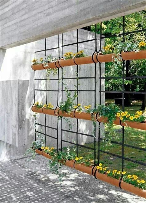 Gutter Planter by Attractive Gutter Planters For The Home