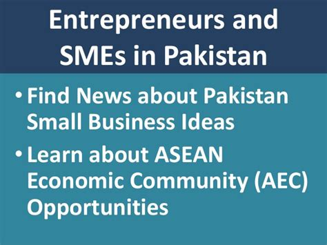 Small Business Ideas At Home In Pakistan Pakistan Great Small Business Ideas And Opportunities