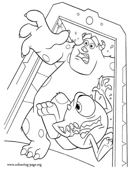 coloring page monsters inc monsters inc coloring pages coloring home