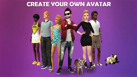 design your own home dress up games avakin life 3d virtual world android apps on google play