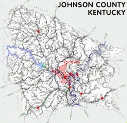 johnson county kentucky kentucky atlas and gazetteer