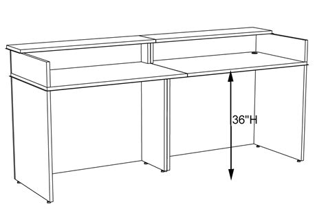 standard desk height ergonomics