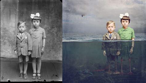 fotos antiguas tenebrosas twisting history 40 surreal altered vintage photographs
