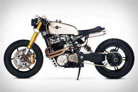 motogrotto vintage custom cafe racer bike build for bmw vintage cafe racers katee sackhoffs custom honda xl600