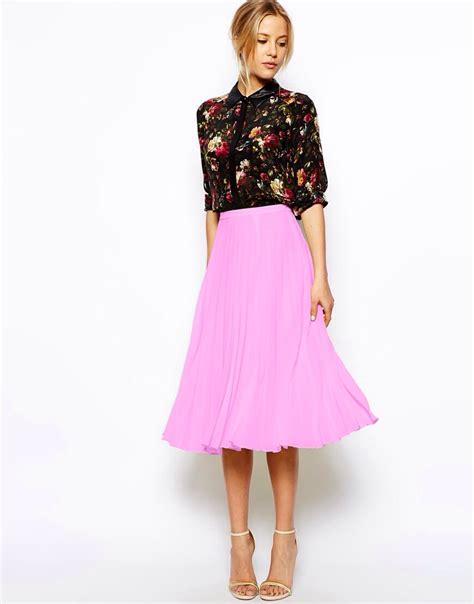 shop the midi skirt edit demelza buckley